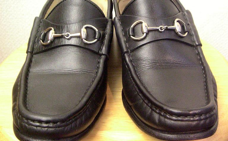 靴のカビAfter